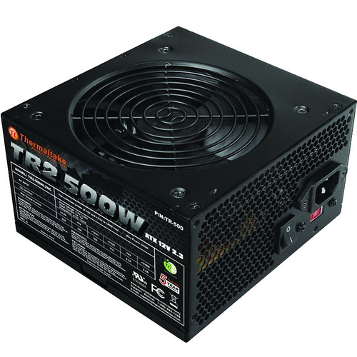 Fuente Thermaltake Tr2 Tr-500 500w Reales Fan 120mm