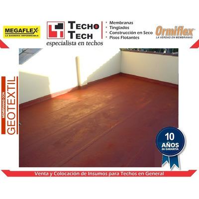 Membrana asf ltica transitable geotextil con colocaci n for Precio mano de obra colocacion tela asfaltica