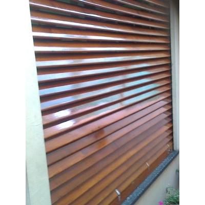 Reparacion de cortinas de enrrollar de madera en mercado for Cortinas de madera para puertas