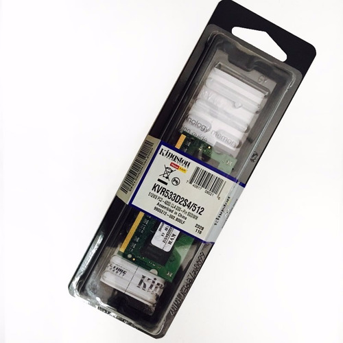 Memoria Sodimm Kingston 512 Mb Notebook Ddr2-533 533mhz