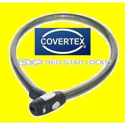 Cadena cable seguridad linga acero moto bicis auxilio - Cable acero trenzado ...