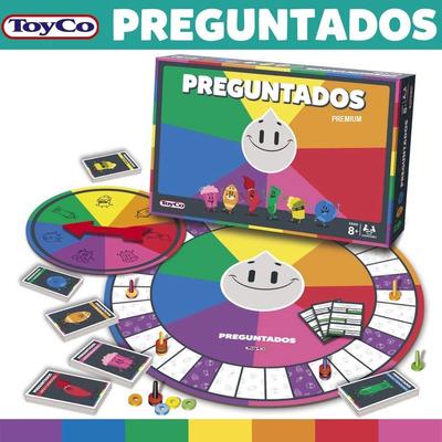 Preguntados Premium Juego De Mesa Toyco Jugueteriapalermo Gift