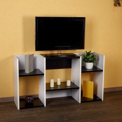 Mesa de tv lcd modulo biblioteca repisa 2 funciones el for Mesa biblioteca