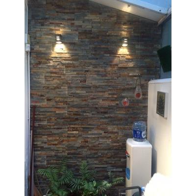 novedoso de piedra natural prearmado en placas pegadas sobre malla son ideales para revestir paredes interiores y exteriores with revestir paredes