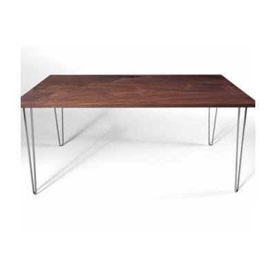 Mesa de comedor patas de hierro estilo escandinavo moderno for Mesa comedor estilo escandinavo