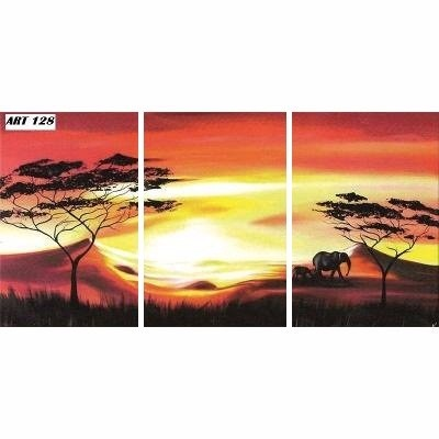 cuadro triptico abstractos modernos con relieve y textura en mercado libre