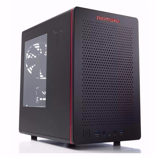 Gabinete Gamer Riotoro Cr280 Mini Itx Compacto Usb3.0