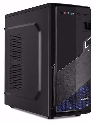 Gabinete Pc Gamer Sentey Zephyr Gs-6004 Coolers Usb3 Mid Atx