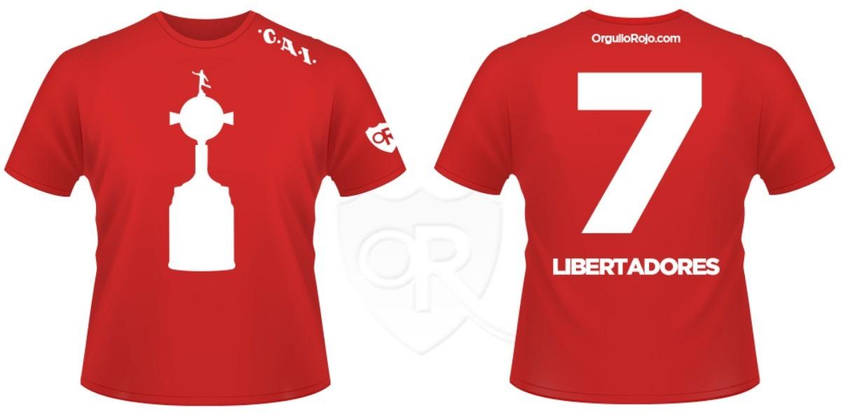 """Remeras Coperas """"Dorsal Libertadores"""""""