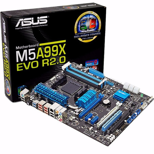 Mother Asus M5a99x Evo - Pc Amd Am3+ Chipset 900x Crossfire