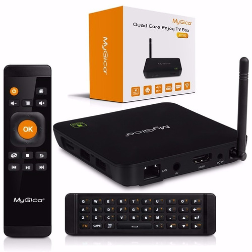 Smart Tv Box Mygica Atv582 4k Hdmi Wifi Bluetooth Android
