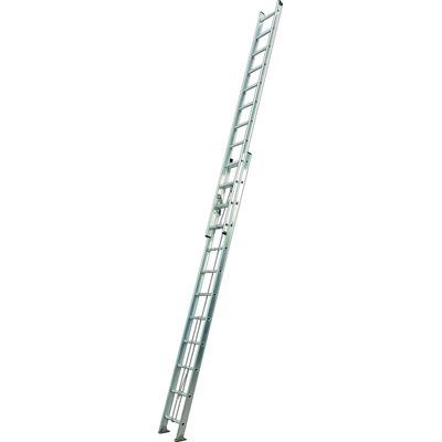Escaleras aluminio extensible 2 x 10 escalones mts for Precio escalera aluminio extensible