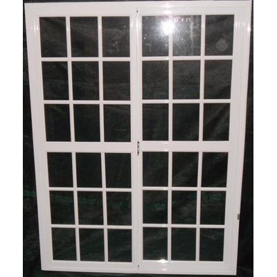Puerta ventana balcon aluminio blanco a medida oferta x m2 Puerta balcon aluminio medidas
