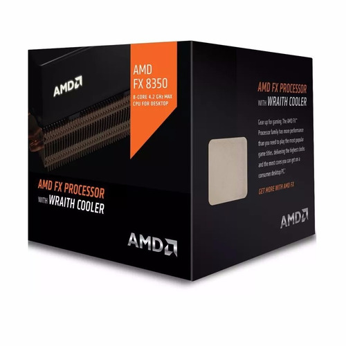 Cpu Amd Fx 8350 X8 Vishera Am3+ Black Wraith Edition