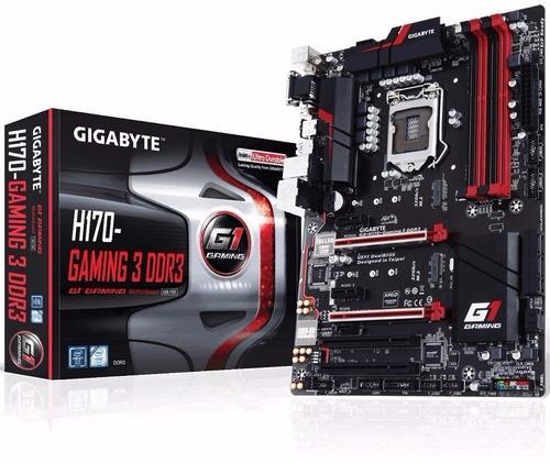 Gigabyte Ga-h170-gaming 3 Ddr3 Lga1151 H170 Crossfire 6tagen