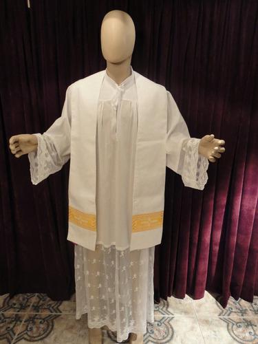71eb6dbadb8 Estola Sacerdote Ornamentos Vestiduras Cura Iglesia Regalos en venta ...