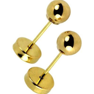 1e1a91abf22b Par aros abridores 8 mm. Realizados integramente en oro 18k.  Hipoalargénicos  Certificado de garantía  Ideales niños  adultos  Estuche  presentación