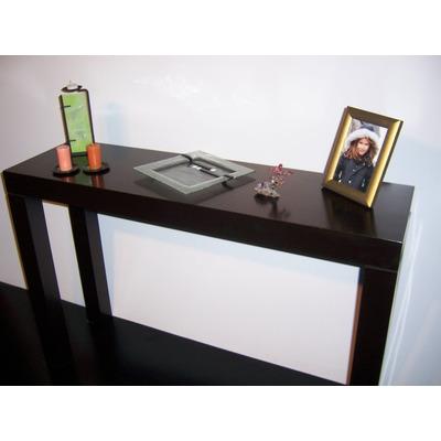 Mesa de arrime laqueada recibidor moderna 80 x 30 cm - Mesas de recibidor modernas ...