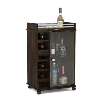 Bar bodega cava vinoteca mueble licores vinos copas for Mueble vinos