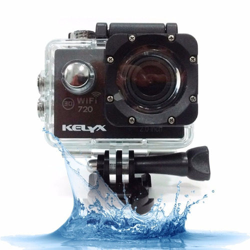 Camara Deportiva Kelyx Kl101 720p Action Cam Sumergible