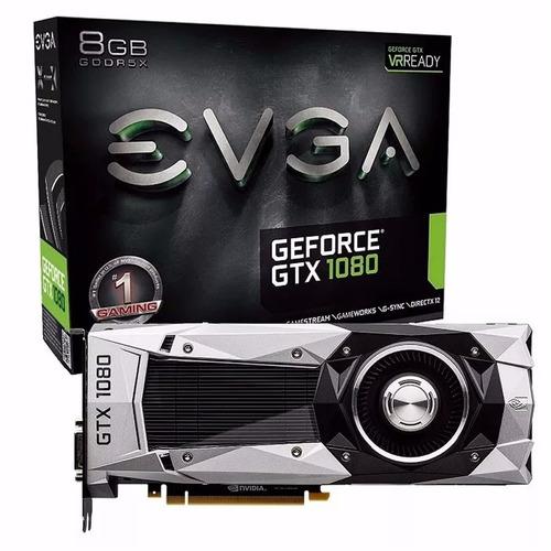 Placa De Video Nvidia Gtx 1080 8gb Gddr5x 4k Gaming