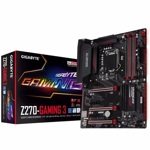 Mother Gigabyte Z270 Gaming 3 Socket 1151 Ddr4