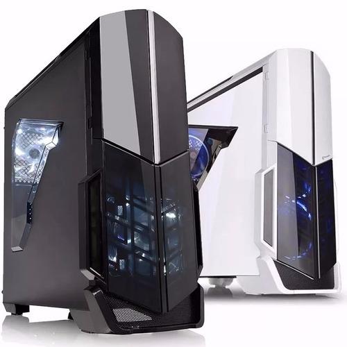 Gabinete Gamer Pc Thermaltake Versa N21 Mid Tower Blanco Ventana