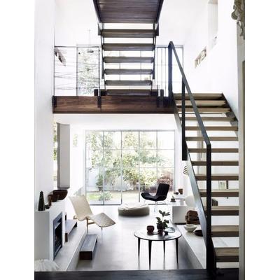 el precio de la publicacion equivale a un metro lineal en diagonal de este diseo de escalera minimalista por ejemplo si tiene metros en diagonal seria