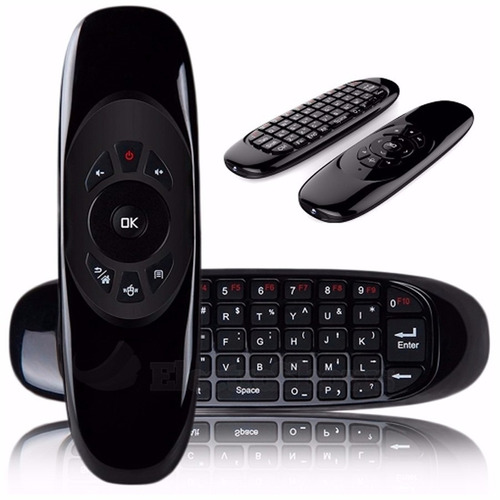 Air Mouse Control Remoto Teclado Inalambrico All In One Noga