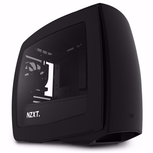 Gabinete Pc Nzxt Manta Mini Itx Matte Black Negro