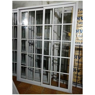 Puerta balcon 120x200 vidrio repartido reja mosquitero for Ventanas de aluminio precios argentina
