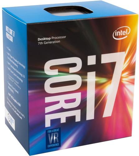 Micro Procesador Intel I7 7700 Kabylake 1151 3años Garantia