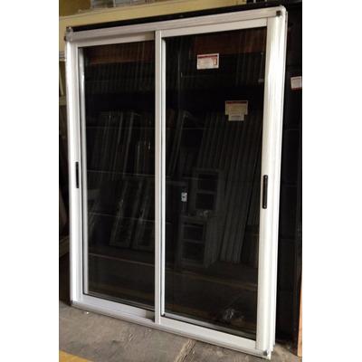 Ventana balcon aluminio modena blanco vidrio entero for Ventana balcon medidas