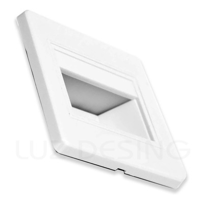 Embutido Pared Ideal Escalera Web Led Blanco Exterior Sf