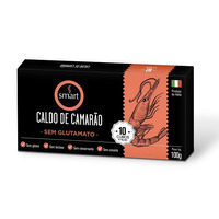 Caldo de Camarao  Italiano (10 Cubos) - 100g - Smart