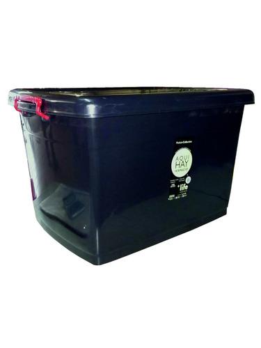 Organizador Con Ruedas Heavy-box, 95 Lts- Reforzado X 4 Uni.