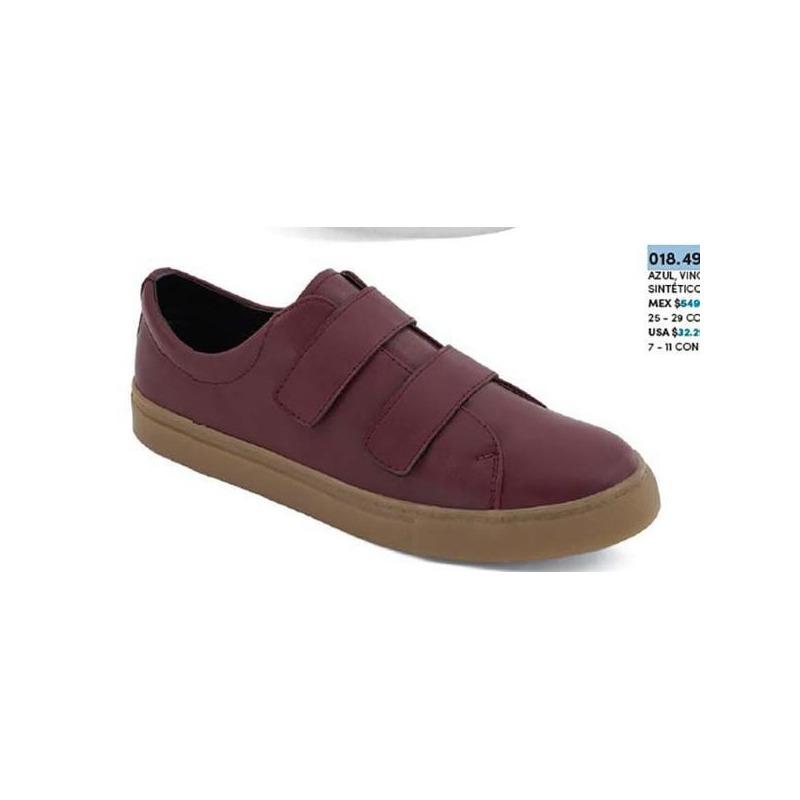 Sneakers vino con correas 018495