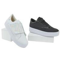 Combo Sneakers 2X1 Blanco Y Negro 020644