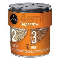 Mix de Temperos 4x1 - 96g - Smart