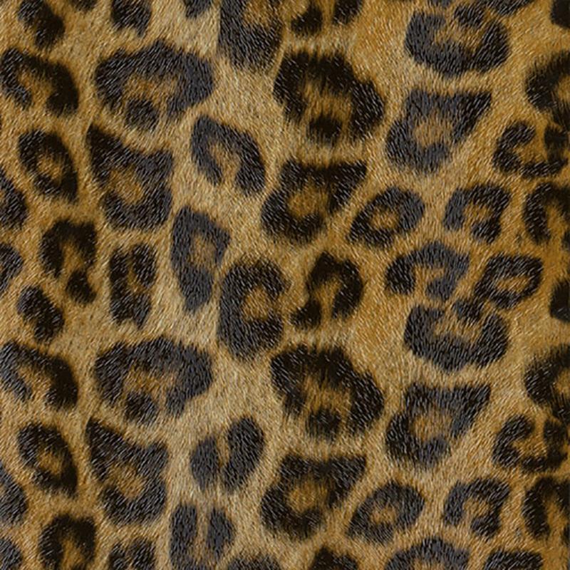 Tecido corino Leopardo Larg. 1,40 m