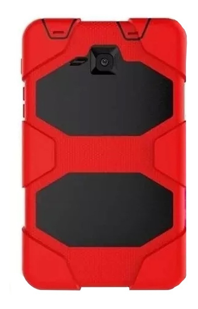 FUNDA TABLET TIPO SURVIVOR T280 ROJO