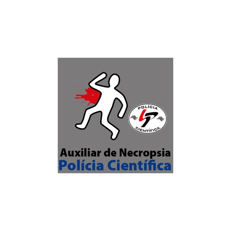 SPTC - Polícia Científica - Auxiliar de Necropsia - Medicina Legal