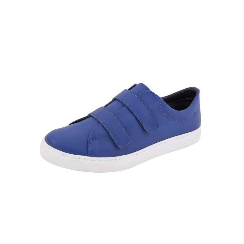 Sneakers azules con correas 018495
