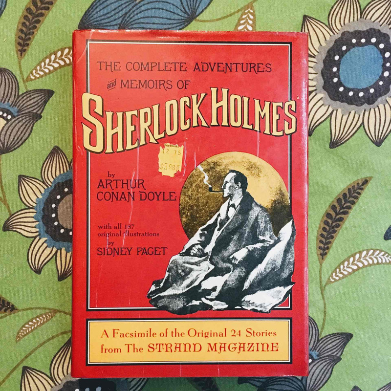 Sir Arthur Conan Doyle. THE COMPLETE ADVENTURES AND MEMOIRS OF SHERLOCK HOLMES.