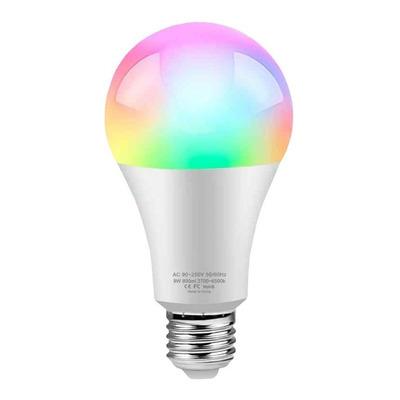 Lámpara Led Smart Life E27 Wifi Rgb Celular App Tuya Sf