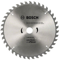 "Disco de Serra ECO 40 Dentes 254mm 10"" - 2 608 644 335 - Bosch"