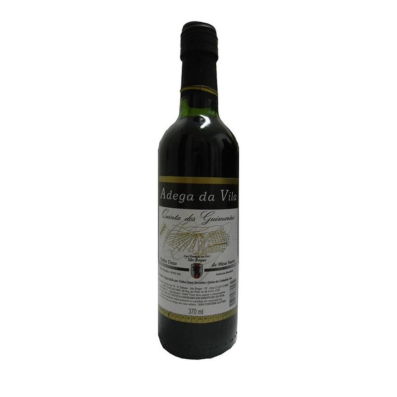Vinho Tinto Suave Bordô 370ml - Adega da Vila