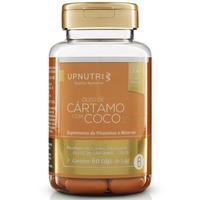 Oleo de Cartamo com Coco - 60 Capsulas de 1000mg - Upnutri
