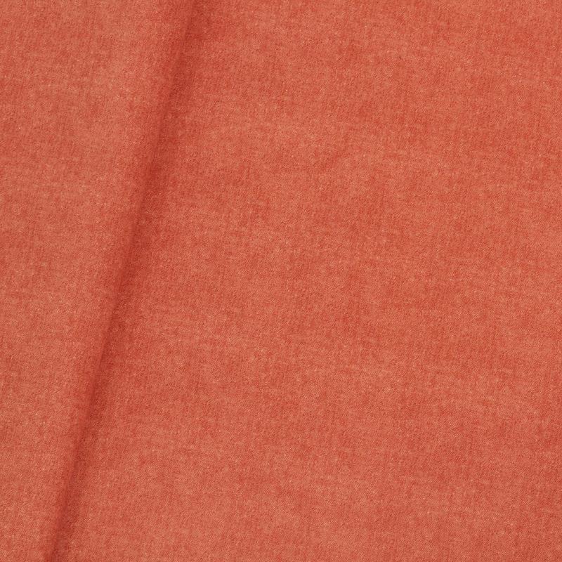 Tecido veludo jeans laranja Coleção New York IV