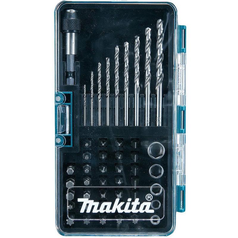 Conjunto de Bits e Brocas com 48 Peças - B-28628 - Makita